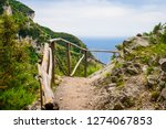 view of amalfi coast along the... | Shutterstock . vector #1274067853