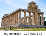 the ancient ruins of remains of ...   Shutterstock . vector #1274067976