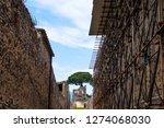 ancient ruins in pompeii ...   Shutterstock . vector #1274068030