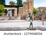ancient ruins in pompeii ...   Shutterstock . vector #1274068036