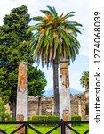 ancient ruins in pompeii ...   Shutterstock . vector #1274068039