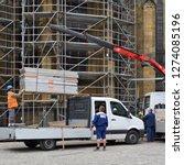 prague  czech republic   may 4  ... | Shutterstock . vector #1274085196