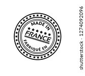 made in france emblem  label ...