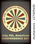 independence day of america | Shutterstock .eps vector #127409630