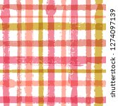 overlaying lines chequered... | Shutterstock .eps vector #1274097139
