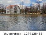 river and city    sunken...   Shutterstock . vector #1274128453