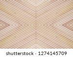 natural mahogany wood panel... | Shutterstock . vector #1274145709