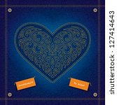 Greeting Card With The Heart O...
