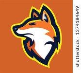 fox head mascot | Shutterstock .eps vector #1274184649