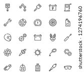 motorcycle part icons pack....   Shutterstock .eps vector #1274196760