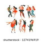 hand drawn vector abstract... | Shutterstock .eps vector #1274196919