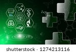 abstract background technology... | Shutterstock .eps vector #1274213116