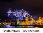 night photo of new year... | Shutterstock . vector #1274224306