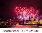 night photo of new year... | Shutterstock . vector #1274224330