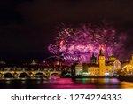 night photo of new year... | Shutterstock . vector #1274224333