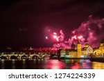 night photo of new year... | Shutterstock . vector #1274224339