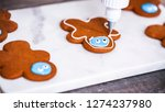 step by step. decorating... | Shutterstock . vector #1274237980