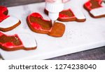 step by step. decorating... | Shutterstock . vector #1274238040