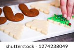 step by step. decorating... | Shutterstock . vector #1274238049