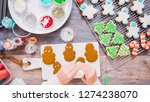 flat lay. step by step.... | Shutterstock . vector #1274238070