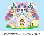 llustration of a fairy tale... | Shutterstock .eps vector #1274277076