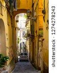 salerno  italy  may 2015  ... | Shutterstock . vector #1274278243