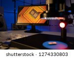 laboratory of semiconductor... | Shutterstock . vector #1274330803