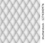 quilted fabric background ... | Shutterstock .eps vector #1274340976