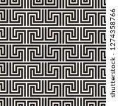 vector seamless pattern. modern ... | Shutterstock .eps vector #1274358766