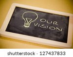 Lighbulb And Business Vision...