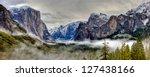 Yosemite Valley Panorama ...