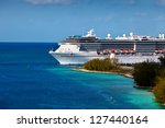 Cruise Ship Entering Port Of...