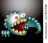 little dinosaur | Shutterstock .eps vector #127441988