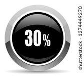 30 percent vector steel icon.... | Shutterstock .eps vector #1274449270