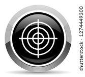 target vector steel icon.... | Shutterstock .eps vector #1274449300