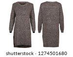 grey female dress   Shutterstock . vector #1274501680