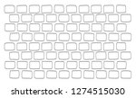 vector isolated line pattern of ... | Shutterstock .eps vector #1274515030