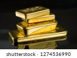 Several Gold Bars Of Different...