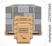 Cinder Concrete Block On Wooden ...