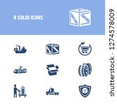 vehicle icon set and tram with...