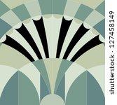 vintage art decor pattern... | Shutterstock . vector #127458149