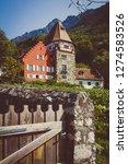 vaduz vineyard garden | Shutterstock . vector #1274583526
