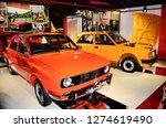 retro museum in varna  bulgaria ...   Shutterstock . vector #1274619490