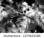 grunge abstract black... | Shutterstock . vector #1274623180
