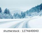Mountain Road Landscape Covere...