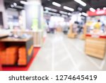 shopping mall abstract... | Shutterstock . vector #1274645419