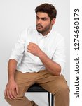 young handsome bearded indian... | Shutterstock . vector #1274660173