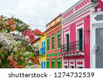 cobbled street in historic...   Shutterstock . vector #1274732539
