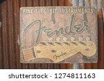 surat thani thailand january 1... | Shutterstock . vector #1274811163