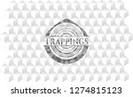 trappings grey emblem. retro...   Shutterstock .eps vector #1274815123